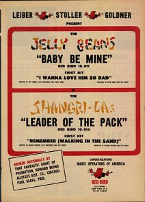 Shangri-Las and Jelly Beans