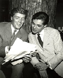 Eddie with Bob Crewe